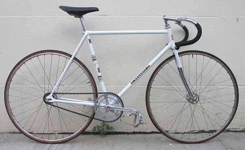 what is the best peugeot frame to start with for a fixie. Black Bedroom Furniture Sets. Home Design Ideas