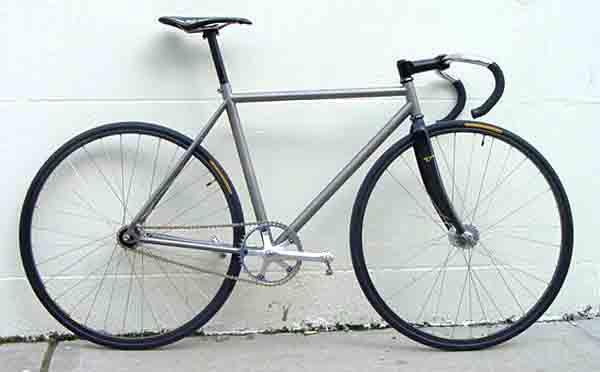 Bike Works NYC-Collections-Titanium track bike